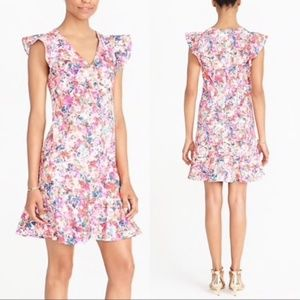 J.Crew Factory | NWT Pink Floral Shift Dress 14